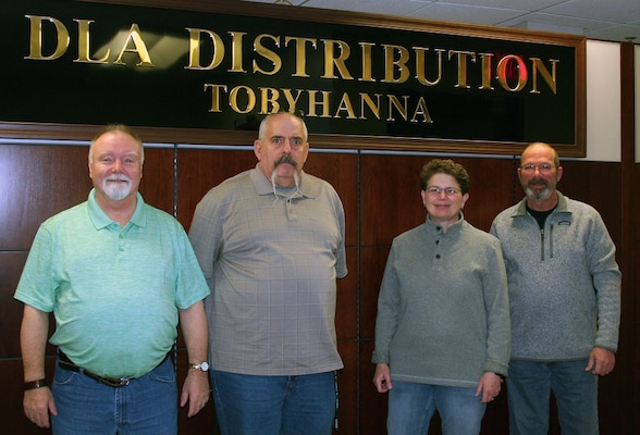 DLA Distribution Tobyhanna earns the Andrew L. Leitzel Annual Contract Quality Assurance Program Commendable Service Award (Team)