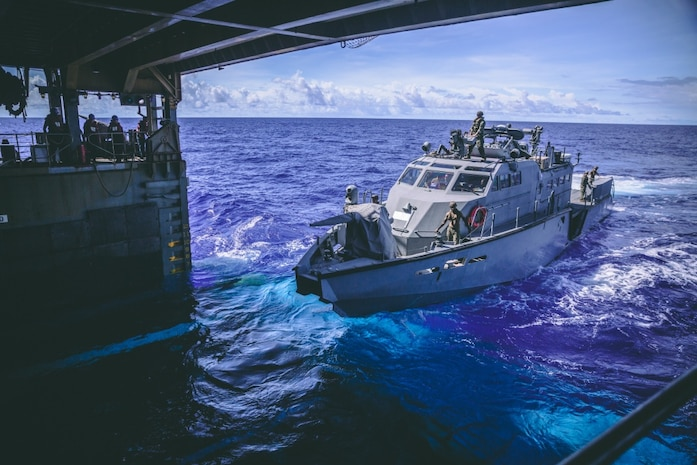 USS Comstock, Maritime Security Operations