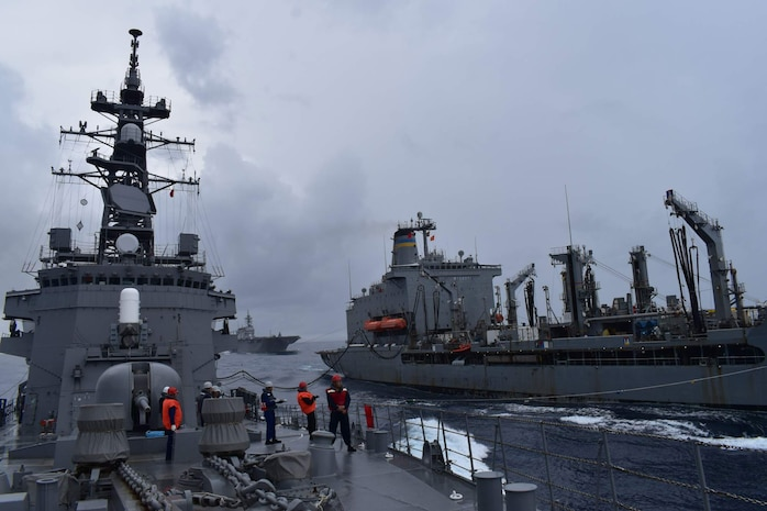 US. Navy joins Japan's Kaga, Ikazuchi for Integrated Operations