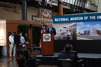 SECNAV announces plans for a new National Museum of the United States Navy.