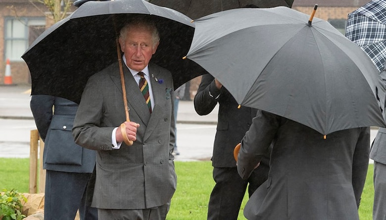 His Royal Highness, the Prince of Wales visits RAF Menwith Hill, England, Oct. 12, 2020. (Courtesy Photo