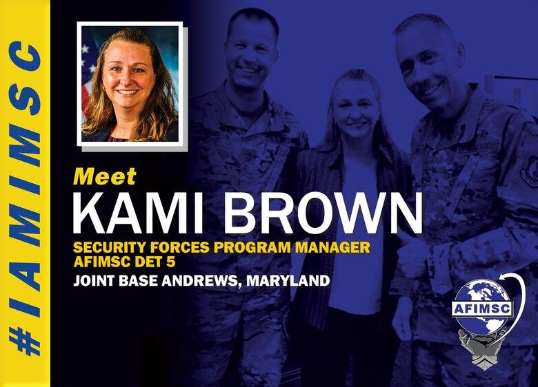 IAMIMSC spotlight graphic for Kami Brown