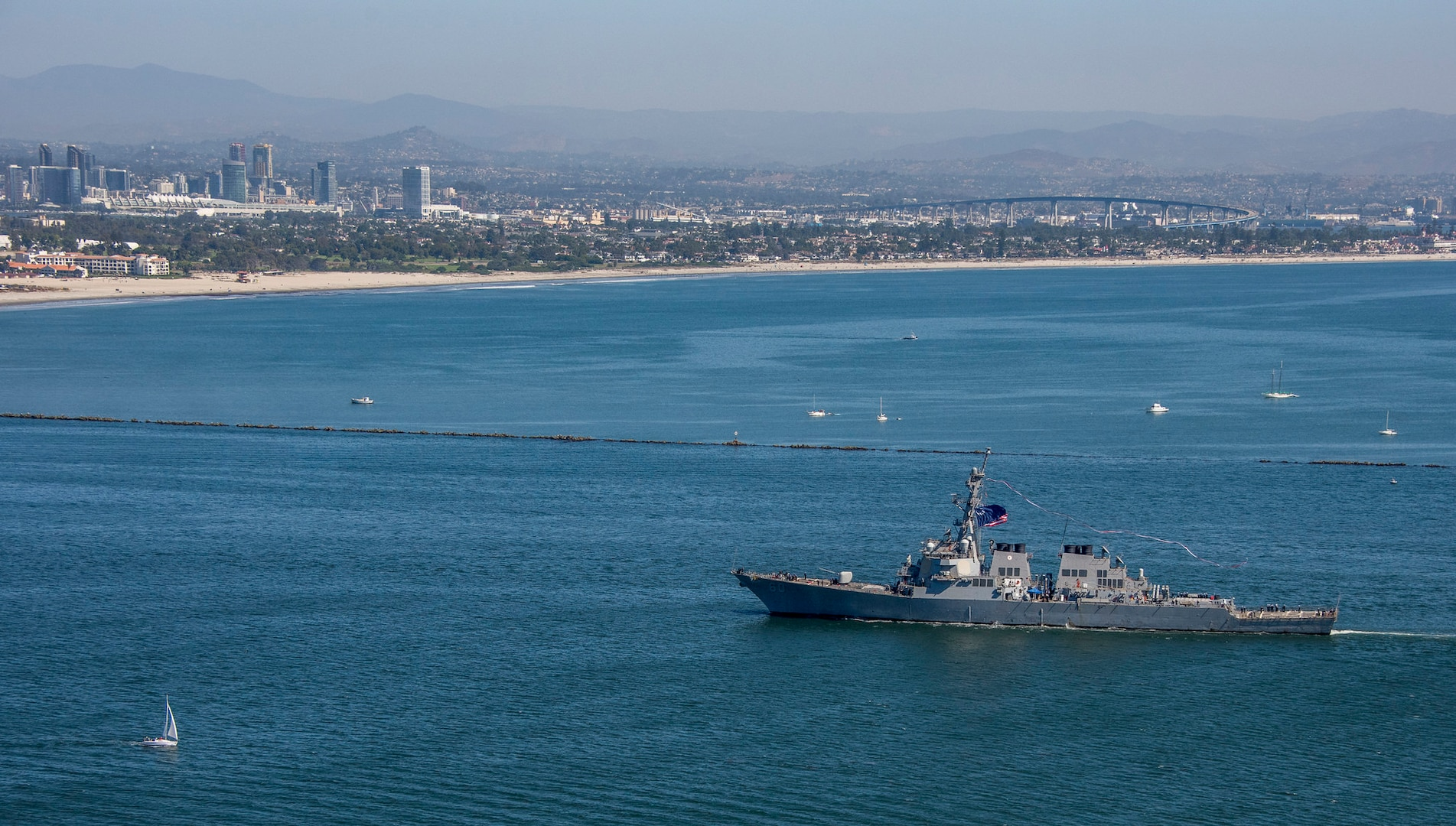 USS Paul Hamilton Returns Home from 9-month Deployment