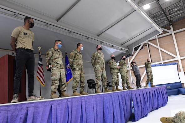 The Citizen Airmen of the 926th Wing participate in a Diversity and Inclusion driven weekend during the Mandatory Unit Training Assembly, Oct. 2-4, at Nellis and Creech Air Force Base, Nevada. Mr. G. Lee Floyd, Air Force Reserve Command's chief diversity and inclusion officer conducted training while invoking thought and conversation with members during four presentations split between the bases.