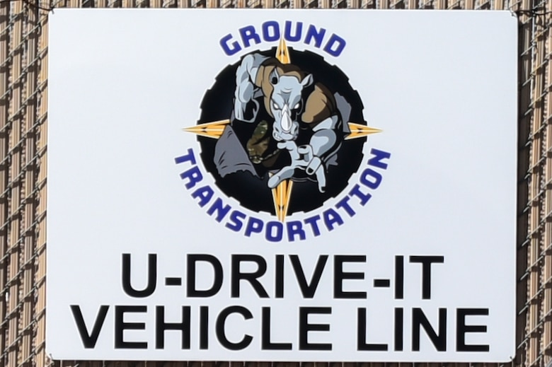 Picture of the ground transportation sign