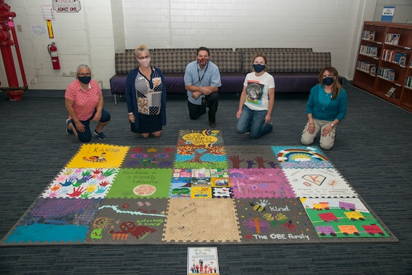Patrons and staff members of the Campbell Memorial Library at Joint Base San Antonio-Fort Sam Houston have come up with a creative way to promote kindness.