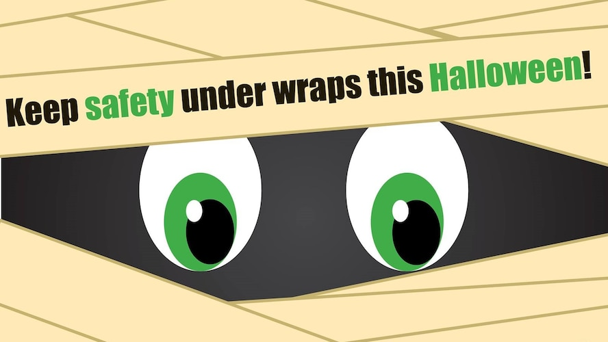 Barksdale Halloween COVID-19 Guidance Graphic