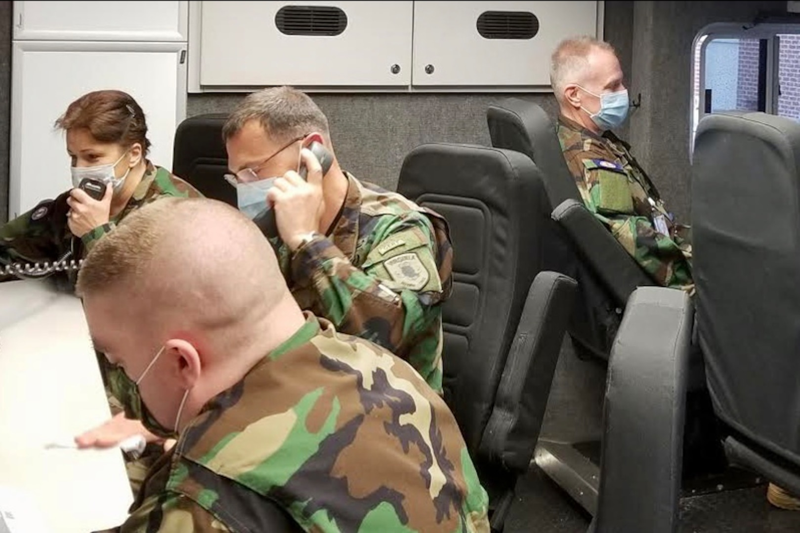 VDF assisting in statewide COVID-19 response effort