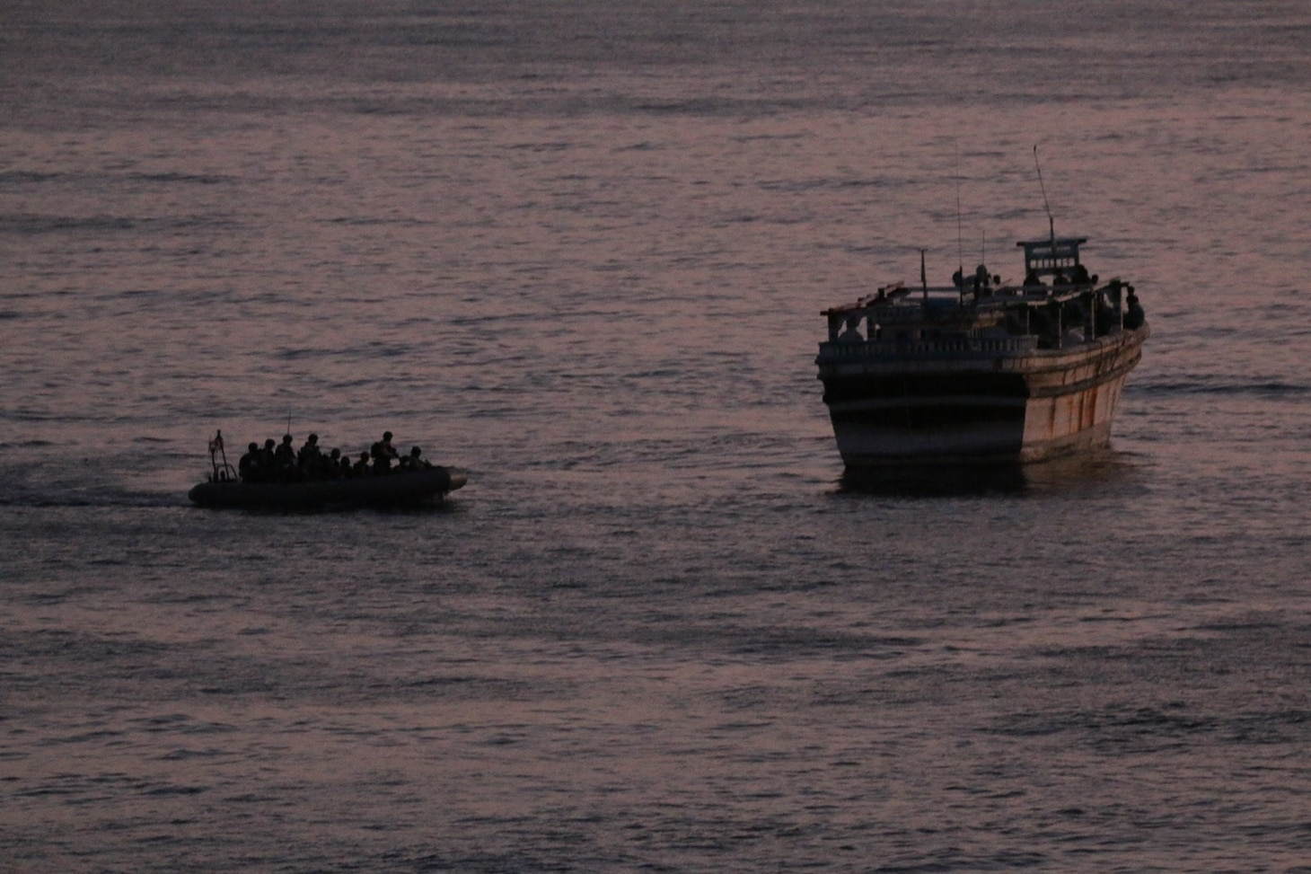 USS Churchill Rescue in Arabian Sea