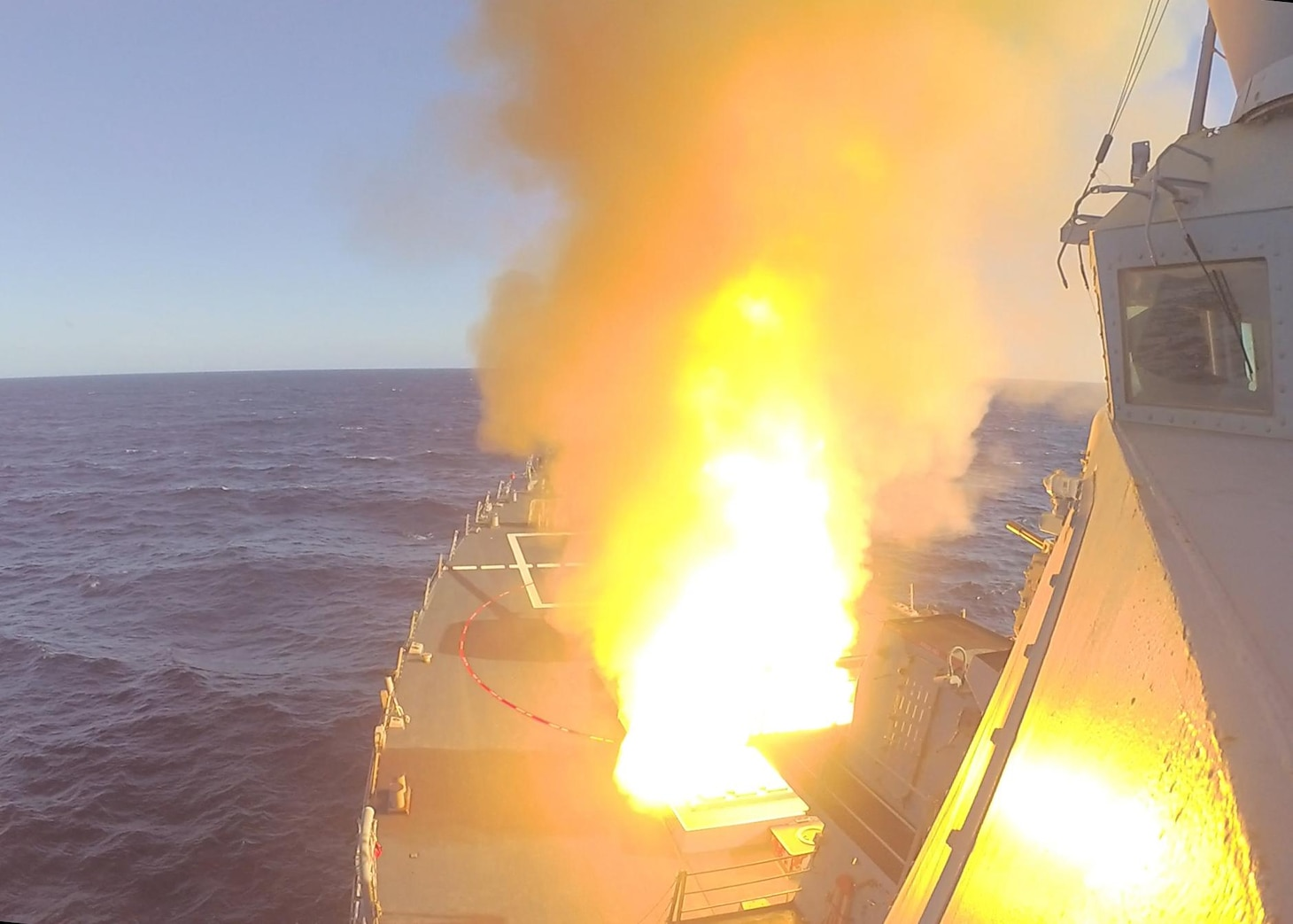 USS Donald Cook (DDG 75); SM-2 missile; Exercise Joint Warrior 20-2