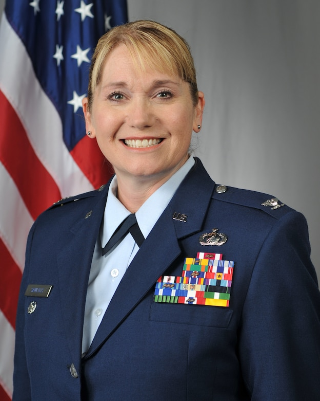Air National Gaurd Colonel Setphanie Samenus