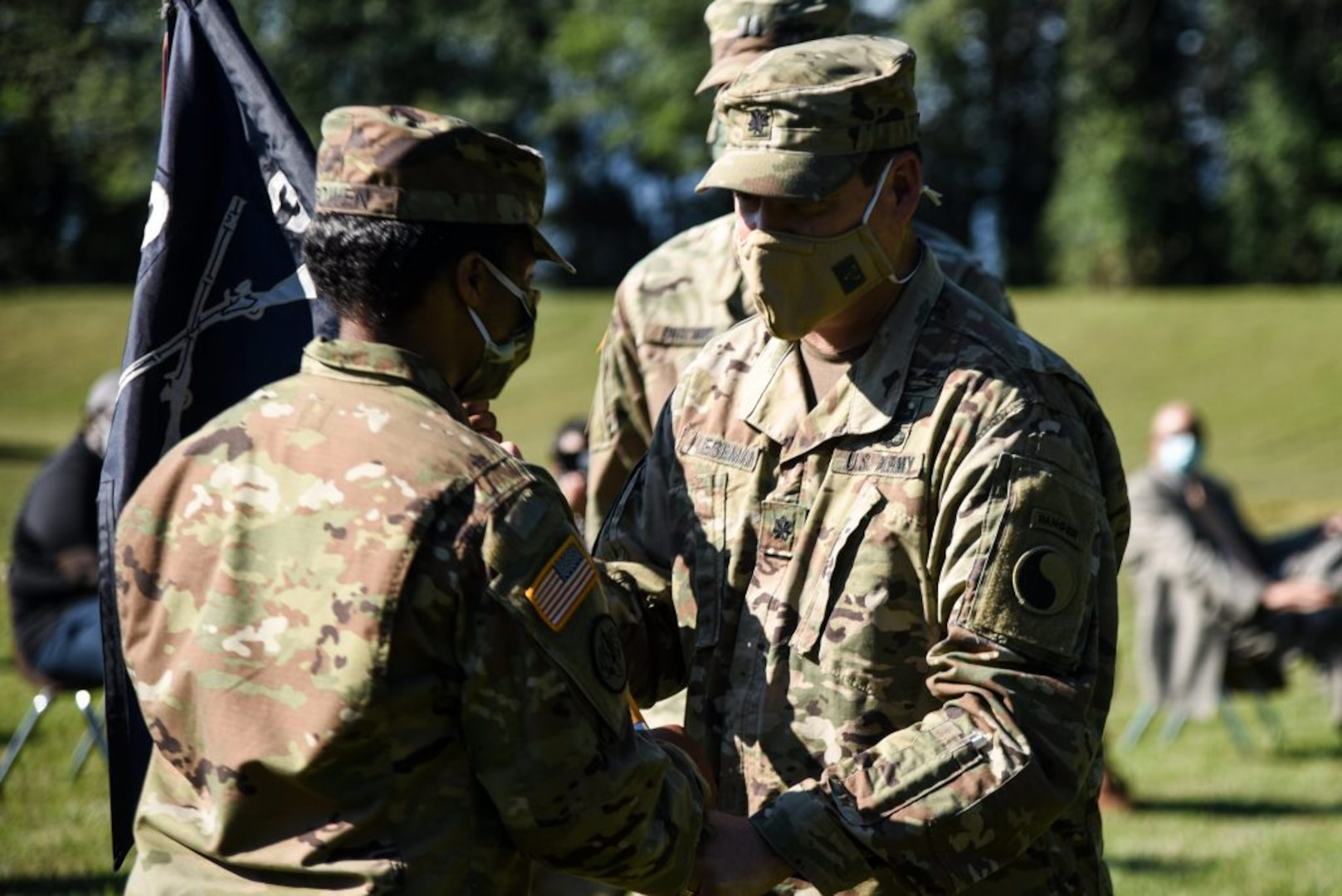 Virginia National Guard welcomes first female infantry company commander