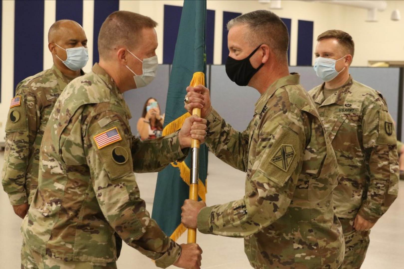 Martin succeeds Hubbard as 183rd RTI commander