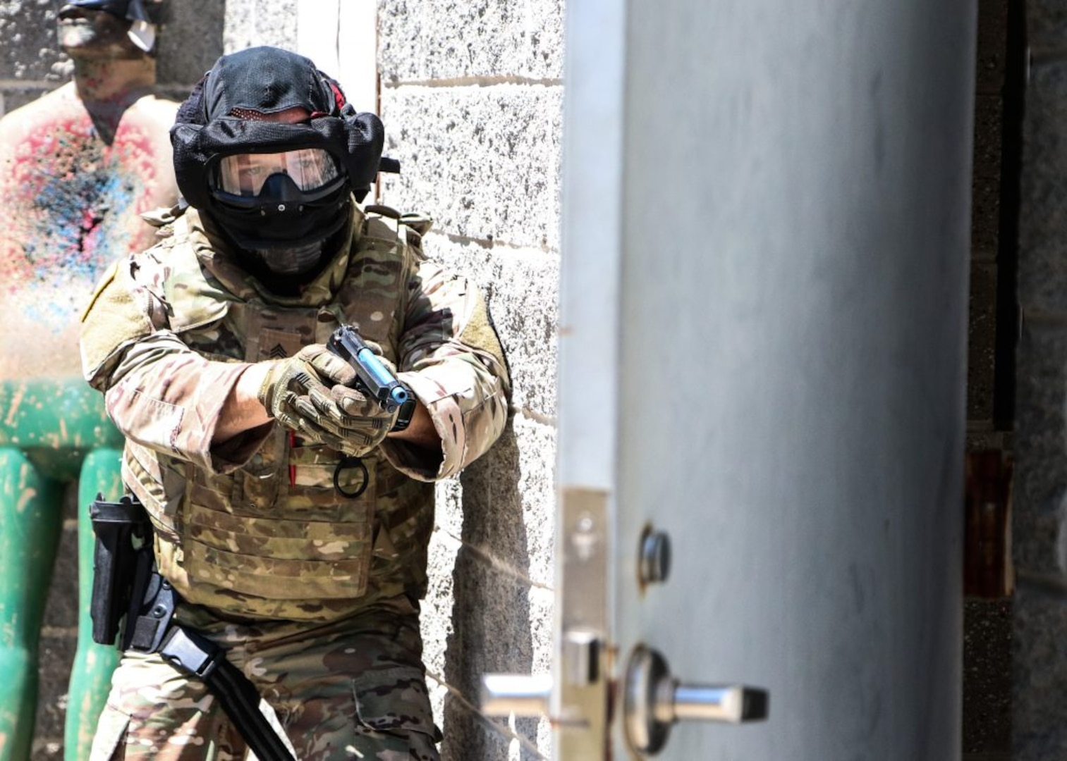 229th MPs conduct active shooter training exercise during AT