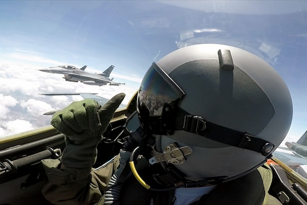 Twenty-five years ago Oct. 16 in Gunfighter history, the 149th Fighter Group was redesignated as the 149th Fighter Wing at Joint Base San Antonio-Lackland. Today, the 149th FW trains combat-ready F-16 pilots for worldwide operations.