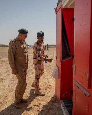 CTEF program equipment helps Iraqi Air Force control their skies 201015-A-LX531-0348