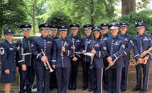 The Women of the Air National Guard Band of the Northeast