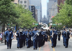 553d Ceremonial Band - Independence Day Parade