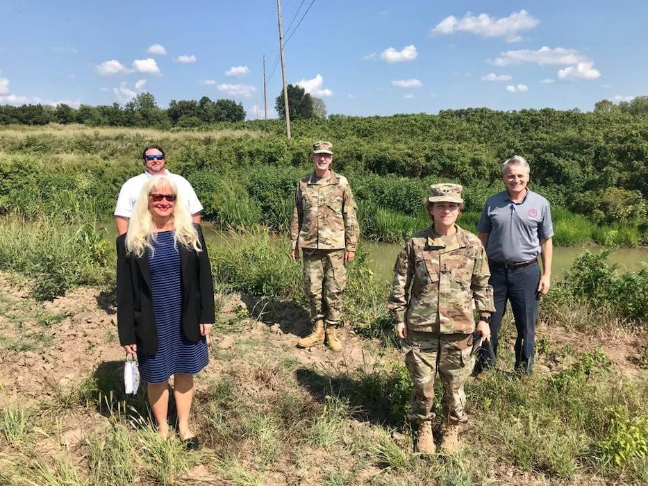MRC members are briefed on three Little River Drainage Ditch Projects.