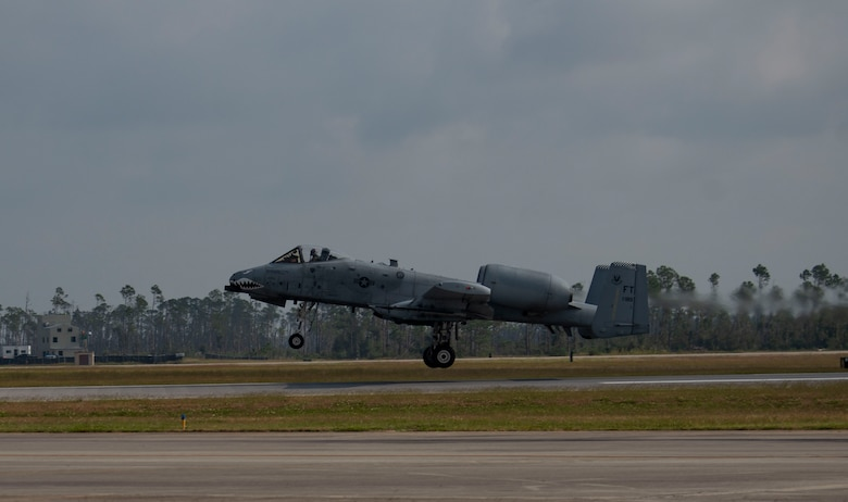 A-10 aircraft launches