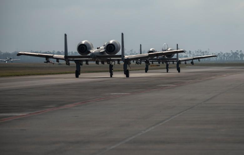 A-10 aircraft in flight