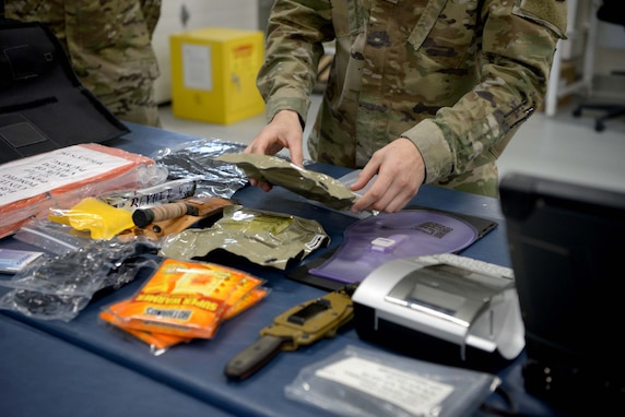 First arctic survival kits installed in Eielson F-35As