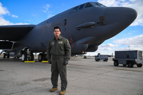 Capt. David Casanova is a B-52 weapons systems officer for the 69th Bomb Squadron. During Prairie Vigilance he works on the Alert Parking Area near the Alert Shack. He is on stand-by and ready to respond at a moment's notice. Casanova and his team are always ready to strike.