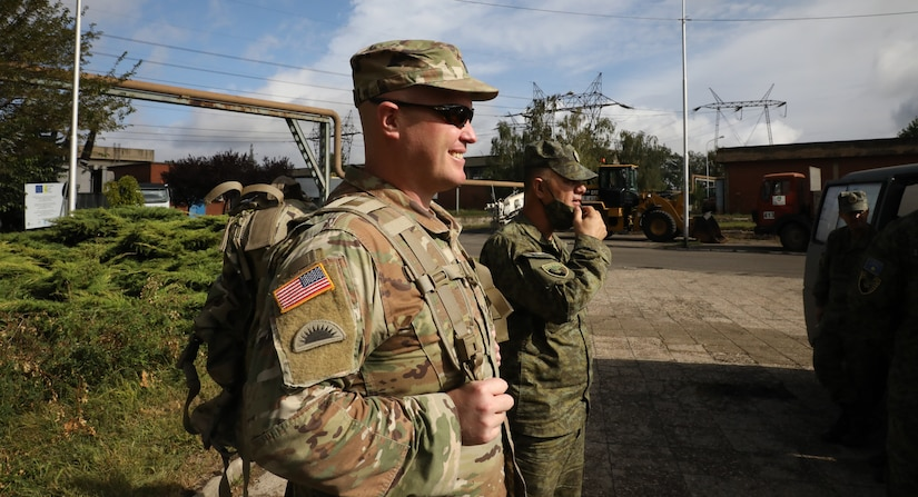 Oregon Army Guard chemical officer helps keep Kosovo safe