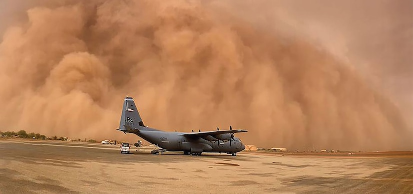 Airmen stationed at Nigerien Air Base 101 in Niamey, Niger, and Nigerien Air Base 201 in Agadez, support partner forces and international efforts to counter violent extremist organizations. (USAFRICOM)
