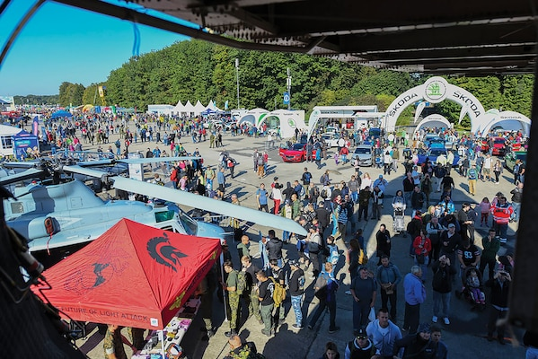 2019 NATO Days strengthen alliances, partnerships; Ostrava, Czech Republic, 21 September 2019, attended by over 200,000 thousand visitors. (U.S. Air Force photo by Senior Airman Alexandria Lee)