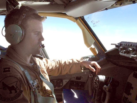 """Capt. Mark """"Tyler"""" Voss perished in a plane crash near Chon-Aryk, Kyrgyzstan, while on his sixth deployment."""
