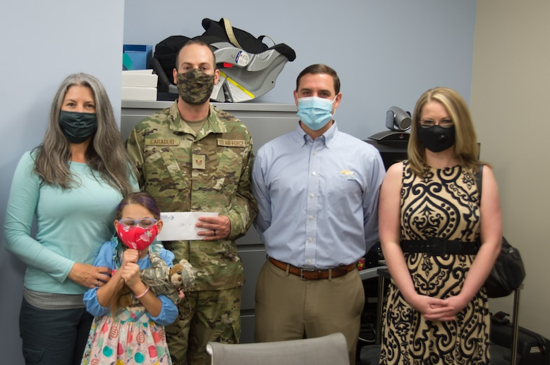 Photo of U.S. Air Force Staff Sgt. Daniel Caraglio Medical Group mental health technician, was named Military Citizen of the Year by the Greater Sumter Chamber of Commerce, reflecting on his time at Shaw AFB.