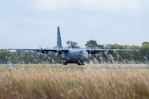 C-130s travel to Barksdale for aerial spray pest insect control efforts