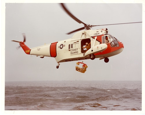 A photo of a Sikorsky HH-52 in flight
