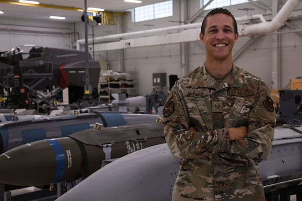 TSgt. Jeremy McKague inspires future generations of Airmen