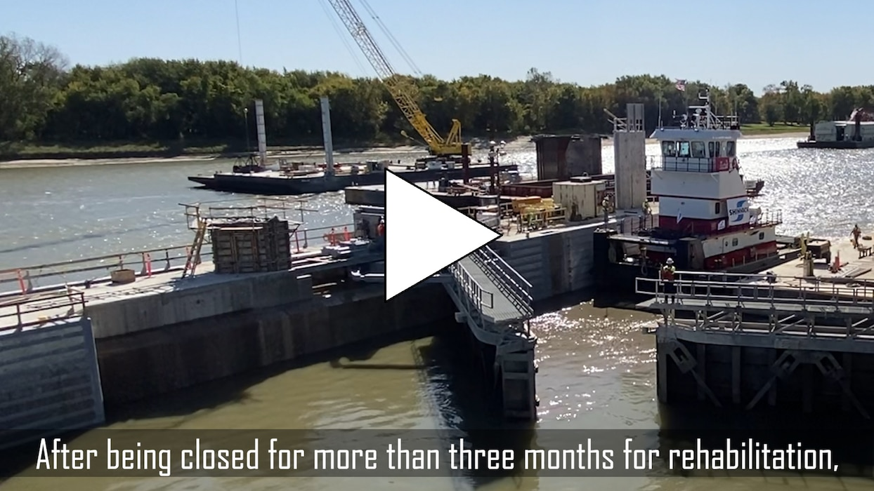The 2020 Illinois Waterway Consolidated Closures effort is nearly complete. The locks at Peoria and LaGrange have reopened and Starved Rock, Marseilles and Dresden Island are set to reopen Oct. 29.n