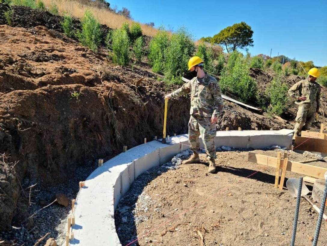 Army Reserve Soldiers support city of Vallejo in restoration of historic West Coast naval cemetery