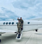 Indiana National Guard soldiers assigned to Company C, 2-238th General Support Aviation Battalion return home to Indiana after a deployment to the Middle East supporting Operations Spartan Shield and Inherent Resolve.
