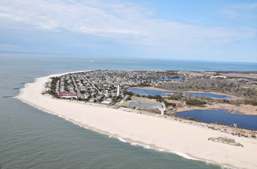The initial construction for the Lower Cape May Meadows-Cape May Point ecosystem restoration project was completed in 2007 and has been nourished/repaired in subsequent years.