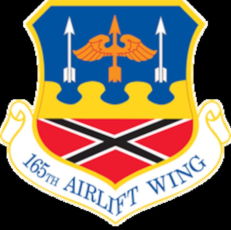 165th AW Logo