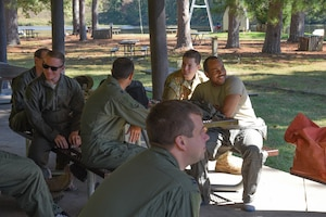 Sumpter Smith Airmen Train to Survive Water Landing