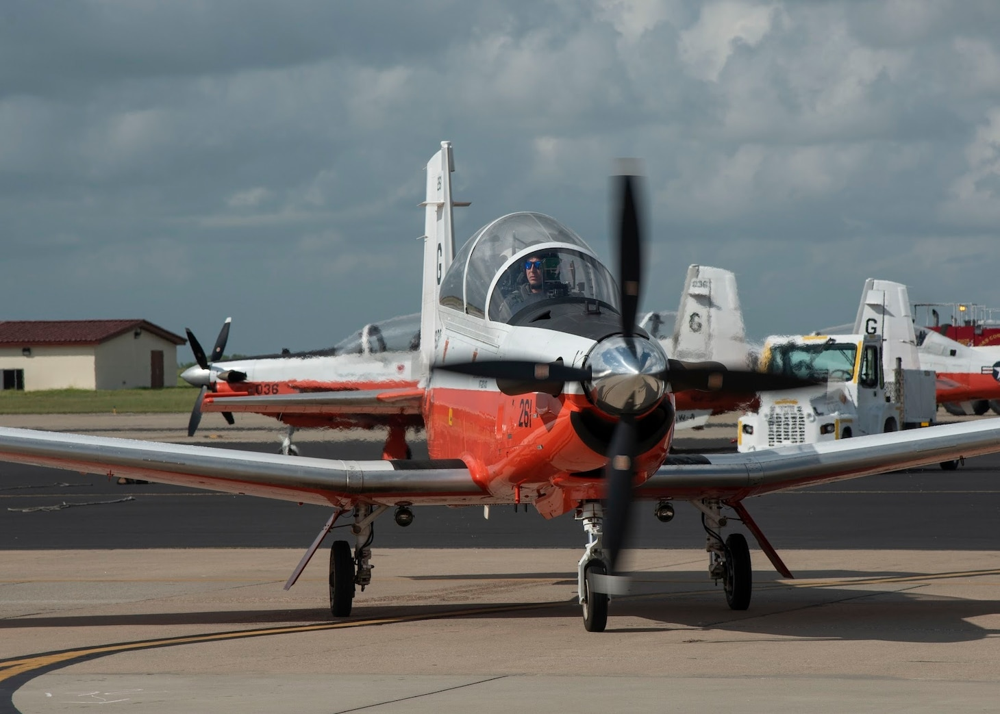 FILE PHOTO: T-6B Texan II