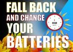 Daylight Saving Time ends Sunday, November 1, 2020.