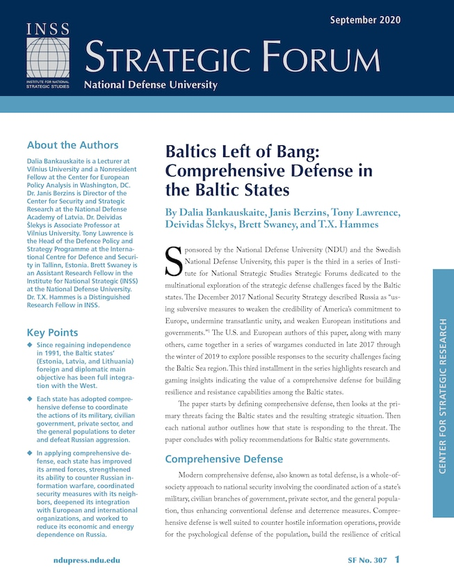Baltics Left of Bang: Comprehensive Defense in the Baltic States