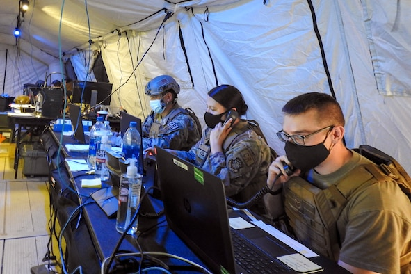 Airmen exercise contingency response proficiency during Green Flag Little Rock 21-01