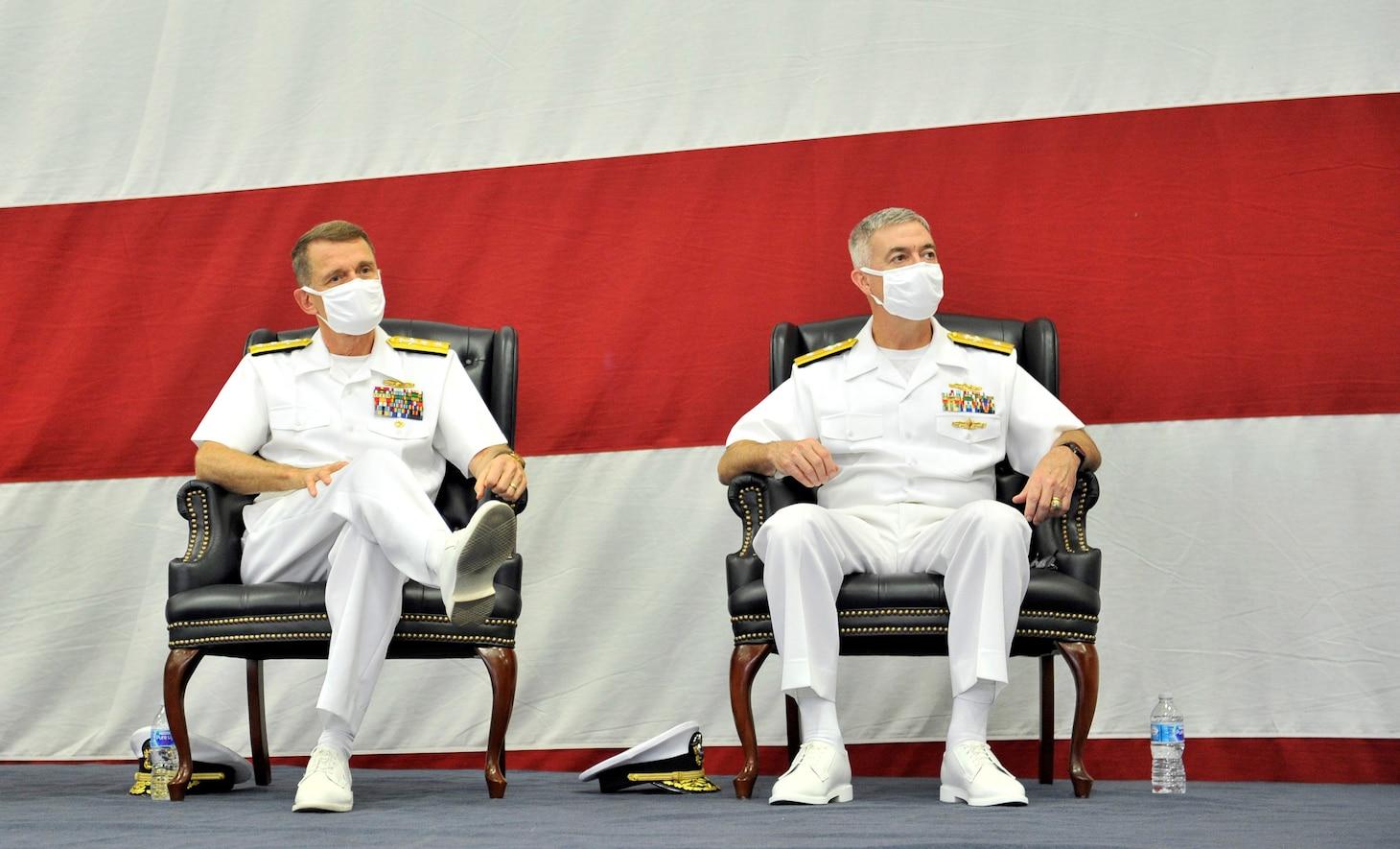 Rear Adm. James Butler Takes Helm of Reserve Naval Information Warfare Force