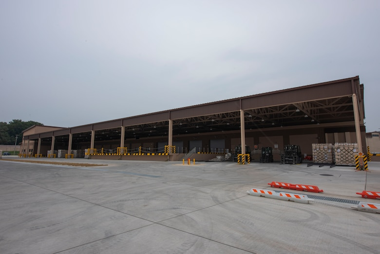 An air freight terminal