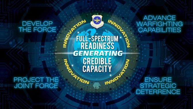Gen. Jacqueline Van Ovost, commander of Air Mobility Command, announced her four command priorities to accelerate change and maximize readiness within AMC, October 27, 2020 .