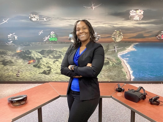AFLCMC Engineer Monique Brisson Wins STEM Award