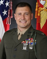 Lieutenant Colonel Mastin Robeson, Jr., 1st Battalion, 6th Marine Regiment commanding officer